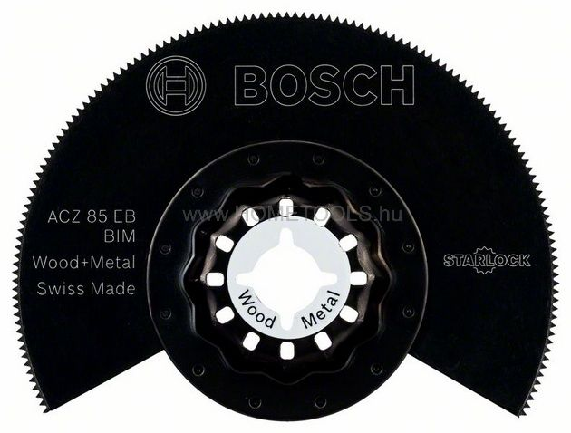 BOSCH BIM szegmens fűrészlap, ACZ 85 EB Wood and Metal