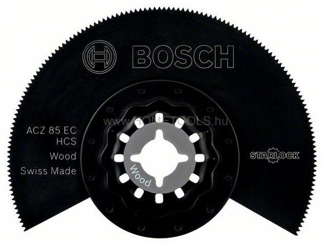 BOSCH Szénacél szegmens fűrészlap, ACZ 85 EC Wood