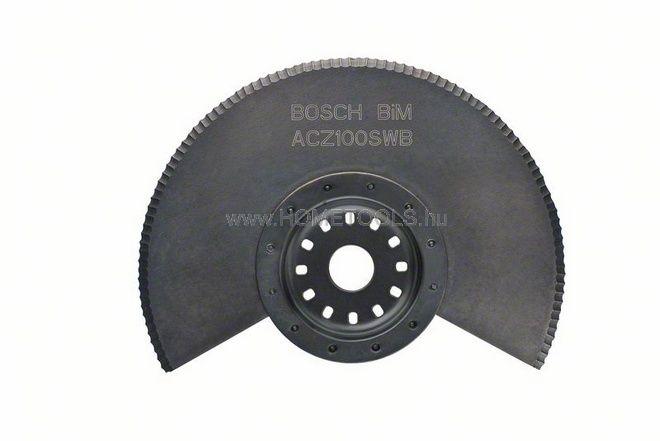 BOSCH ACZ 100 SWB BIM hullámos élezésű szegmens kés