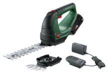Bosch AdvancedShear 18V-10  Akkus bokorvágó- és -fűnyíróolló-készlet 18V 2,0Ah (0600857000)