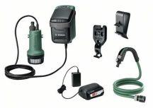 Bosch GardenPump 18 Akkus esővíz-szivattyú 18 V 2,5 Ah akkumulátor (06008C4200)