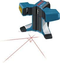 BOSCH GTL 3 Professional csempelézer lézer-céltábla, beállítótárcsa + védőtáska