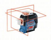 Bosch GLL 3-80 C vonallézer + BT 150 állvány (0601063R01)