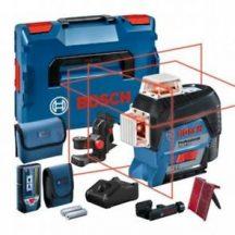 Bosch GLL 3-80 C Vonallézer + LR 7 lézervevő + L-Boxx + BM1 tartó  (0601063R05)