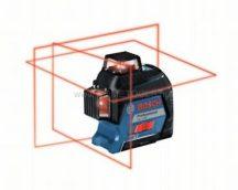 Bosch GLL 3-80 vonallézer szállítókofferben