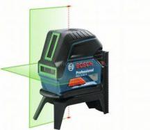 Bosch GCL 2-15 G kombilézer - zöld lézerrel műanyag kofferban