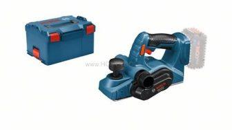 Bosch GHO 18 V-LI akkus gyalu akku és töltő nélkül L-Boxx-ban (06015A0300)