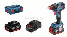 Bosch GDX 18V-200 C Akkus ütvecsavarozó 2 x 5,0 Ah lítium-ion akkuval L-Boxx-ban (06019G4201)