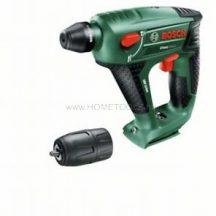 Bosch Uneo Maxx akkus fúrókalapács + fúróadapter - akku és töltő nélkül (060395230C)