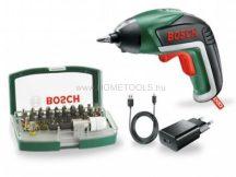 Bosch IXO Bit Set készlet 32 részes tartozékszettel (06039A800S)