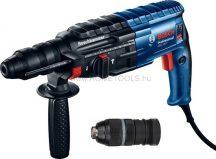 BOSCH GBH 240 F SDS-pluszos fúrókalapács kofferben + 13mm-es gyorstokmány (Bosch GBH 2-24 DRE) (0611273000)