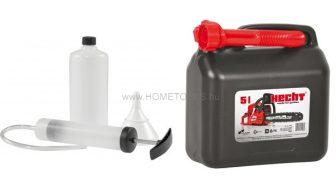 AL-KO 3 részes motorszerviz szett + Hecht 5 literes üzemanyag kanna