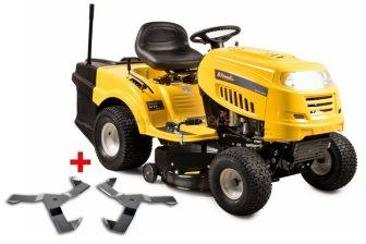 Riwall PRO RLT 92 H POWER KIT kerti fűnyíró traktor Ingyenes beüzemeléssel-összeszereléssel és szállítással országosan