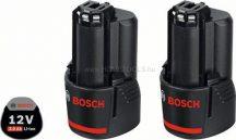 Bosch 2 x GBA 12V 3,0 Ah akkumulátor (1600A00X7D)