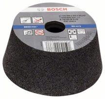 BOSCH Fazékkorong, kúpos - fémhez/öntvényhez 110mm (1608600233)