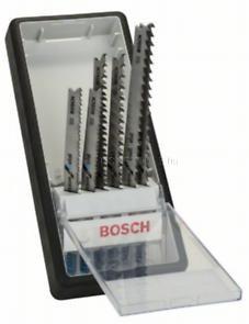 Bosch 6 részes Robust Line vegyes szúrófűrészlap készlet, Progressor T-szár (2607010531)