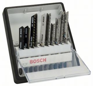 Bosch 10 részes Robust Line szúrófűrészlap készlet, Top Expert T-szár (2607010574)