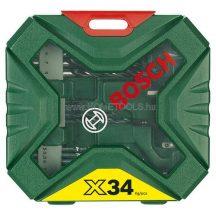 BOSCH X-line 34 részes tartozékkészlet