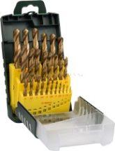 Bosch 25 részes HSS-TiN fémfúrókészlet