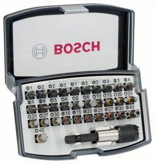 BOSCH 32 részes csavarbit-készlet (ipari) (2607017319)