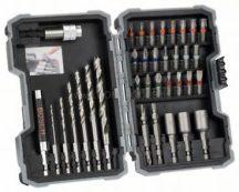 Bosch 35 részes fafúró- és csavarbitkészlet (2607017327)