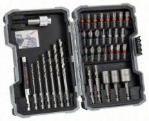 Bosch 35 részes fémfúró- és csavarbitkészlet