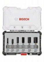 Bosch 6 részes egyenes élű alakmaróbetét-készlet, 6 mm-es szárral (2607017465)