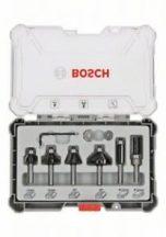 Bosch 6 részes színelő és szélező alakmaróbetét-készlet, 6 mm-es szárral (2607017468)