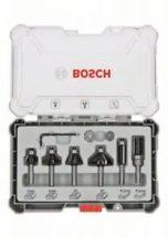 Bosch 6 részes színelő és szélező alakmaróbetét-készlet, 8 mm-es szárral (2607017469)