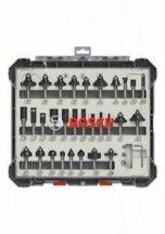 Bosch 30 részes vegyes alakmaróbetét-készlet, 8 mm-es szárral (2607017475)