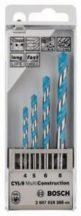 Bosch 4 részes CYL-9 MultiConstruction többcélú fúrókészlet (2607018285)