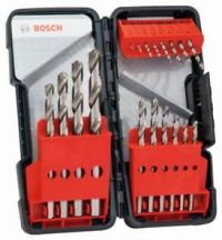 Bosch 18 részes Toughbox HSS-G fémfúró készlet, DIN 338, 135° (2607019578)