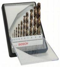 Bosch 10 részes Robust Line HSS-Co fémfúró készlet (2607019925)