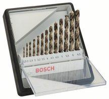 BOSCH 13 részes Robust Line HSS-Co fémfúró készlet