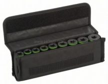 Bosch 9 részes dugókulcsbetét-készlet 10, 11, 13, 17, 19, 21, 22, 24, 27 mm