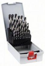Bosch HSS PointTeQ 25 részes spirálfúró ProBox készlet