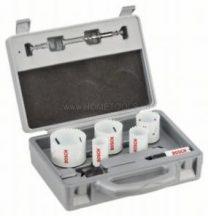 Bosch 9 részes villanyszerelő körkivágó készlet, Progressor (2608584666)