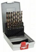 Bosch 19 részes ProBox HSS-Co (kobalttal ötvözött) fémfúrókészlet, DIN 338