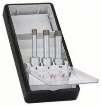 BOSCH 3 részes Robust Line száraz gyémántfúró készlet, Easy Dry Best for Ceramic