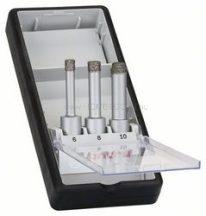BOSCH 3 részes Robust Line száraz gyémántfúró készlet, Easy Dry Best for Ceramic (2608587145)