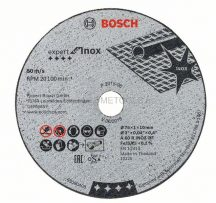 BOSCH GWS 12V-76 fém darabolótárcsa Expert for Inox (5db/csomag)