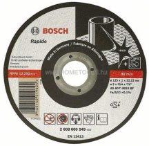 BOSCH Rapido INOX fémvágó tárcsa 115 mm-es
