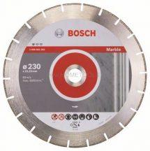 BOSCH Standard for Marble Gyémánt darabolótárcsa 230mm