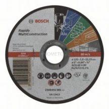 Bosch Darabolótárcsa, egyenes, Rapido Multi Construction