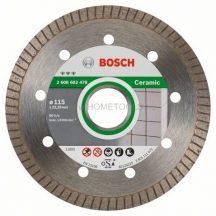 BOSCH Best for Ceramic Extraclean Turbo gyémánt darabolótárcsák