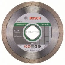 BOSCH  Standard for Ceramic Gyémánt darabolótárcsa több méretben (2608602535)