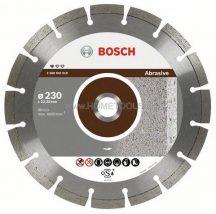 BOSCH gyémánt kemény kő darabolótárcsa 125 mm-es - Standard for Abrasive kivitel (2608602616)