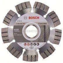 BOSCH Best for Concrete gyémánt darabolótárcsák
