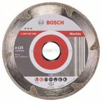 BOSCH Best for Marble gyémánt darabolótárcsa márvány vágásra több méretben (2608602690)