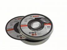 BOSCH Rapido INOX fémvágó tárcsa 125 mm-es 10 db + fém tárolódobozban